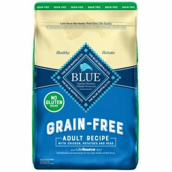 Blue Buffalo Life Protection Formula Grain Free Natural Adult Dry Dog Food, Chicken Recipe, 10-lb