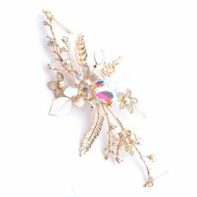 Coolcrystals Fashion Tiara Headband with Earrings Tiara Bridal Hair Accessories