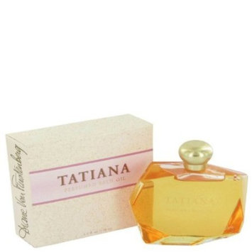 TATIANA by Diane von Furstenberg Bath Oil 4 oz for Women + Angel Rose by Thierry Mugler Vial (sample) .05 oz for...