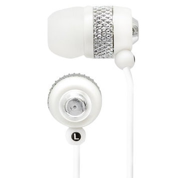 Quantum Fx Lightweight Stereo Earbuds White