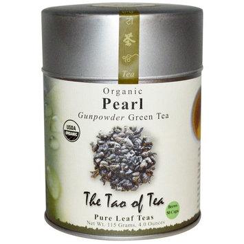 The Tao of Tea, Organic, Gunpowder Green Tea, Pearl, 4.0 oz (115 g) [Flavor : Pearl]
