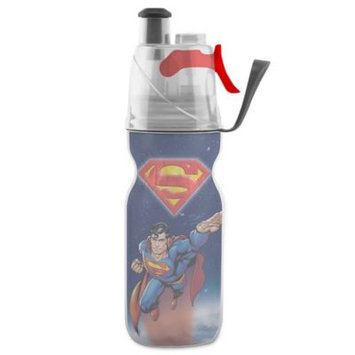O2Cool Kids Mist 'N Sip 12 Ounce ArcticSqueeze Hydration Bottle - Superman