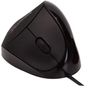 Wowscand Ab Comfi EM011-BK USB Black Ergonomic Mouse By Ergoguys