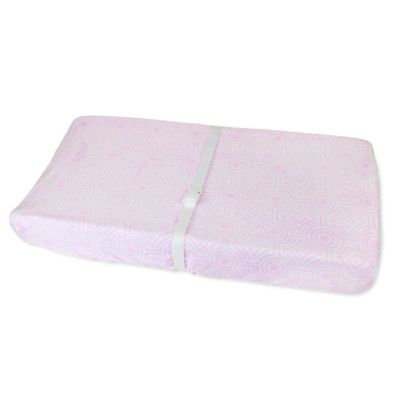 Jonathan Adler Crafted by Fisher Price Sorrento Changing Pad Cover in Pink