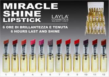 Layla Cosmetics Miracle Shine Lipstick #12