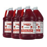 Cherry Snappy Snow Cone Syrup (4 - 1 Gallon)