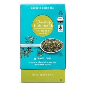 Organic Green Tea Bags - 20ct - Simply Balanced™