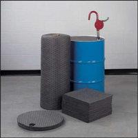 BRADY SPC ABSORBENTS Absorbent Pads,Liquids,19 In. L,PK100, LAB84347