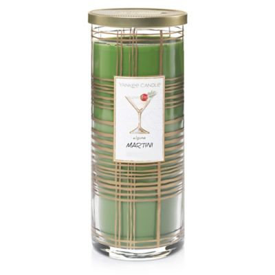 Yankee Candle® Holiday Cocktails Alpine Martini Large Pillar Candle