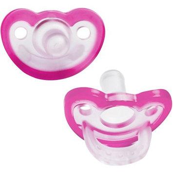 RaZbaby JollyPop Pacifier Newborn 0-3m, Pink