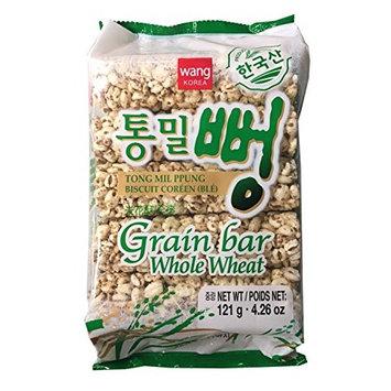 Wang Korea Grain Bar 4.26 oz per Pack (Whole Wheat, 2 Pack)
