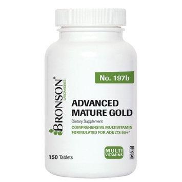 Bronson Vitamins Advanced Mature Gold Multivitamin for Seniors