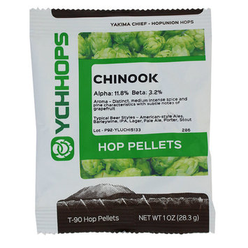 Hopunion US Hop Pellets for Home Brew Beer Making (US Chinook) 1 Ounce