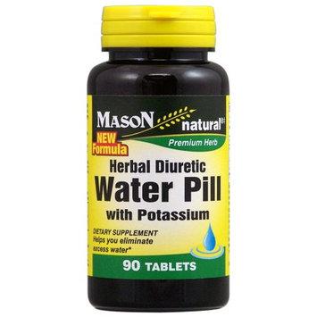 Natural Herbal Diuretic Water Pill, 90 Tablets, Mason Natural