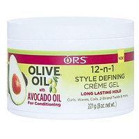 ORS 12-IN-1 STYLE DEFINING CREME GEL LONG LASTING HOLD 8oz