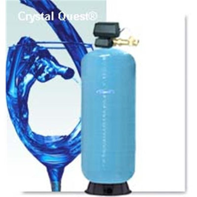 Crystal Quest CQE-CO-02055 Commercial-Industrial Granular Activated Carbon Water Filter System - 15 Cu. Ft