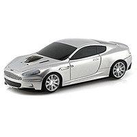 Landmice Aston Martin DBS Car Wireless Computer Mouse - Silver