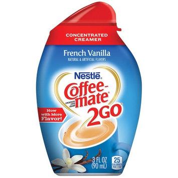 Nestle Coffee-Mate 2GO French Vanilla Concentrated Creamer NET WT 3 FL OZ