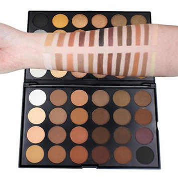 Eyeshadow Palette Shimmer, OutTop 48 Natural Colors Mate Glitter Bright Eyeshadow Set