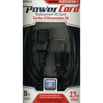 Eforcity NYKO TECHNOLOGIES INC 83032 POWER CORD PS3