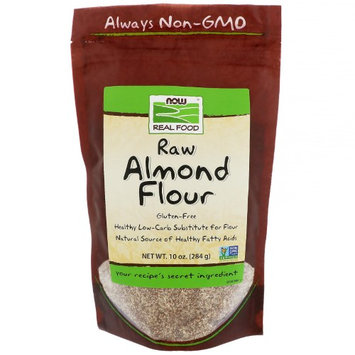 Now Foods, Real Food, Raw Almond Flour, 10 oz(pack of 12)