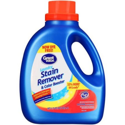 Great Value Laundry Stain Remover & Color Booster, 88 oz