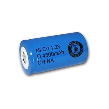 D Size Rechargeable Battery 4500mAh NiCd 1.2V Flat Top Cell FAST USA SHIP