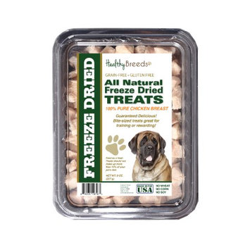 Healthy Breeds 840235147183 8 oz Mastiff All Natural Freeze Dried Treats Chicken Breast