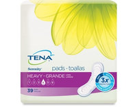 Tena Heavy Long Pads 117/Case 10 Pack