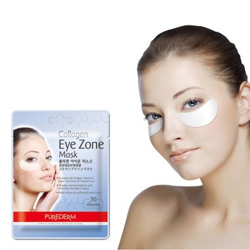 Purederm Collagen Eye Zone Mask Pad Patches - Wrinkle Care, Dark Circles Whitening (5 Pack (150 Sheet))