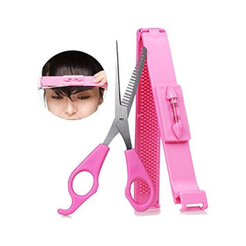 Cut Bangs Artifact Neat Bangs Clip DIY Hairdressing Tools Hair Thinning Scissors Cutters