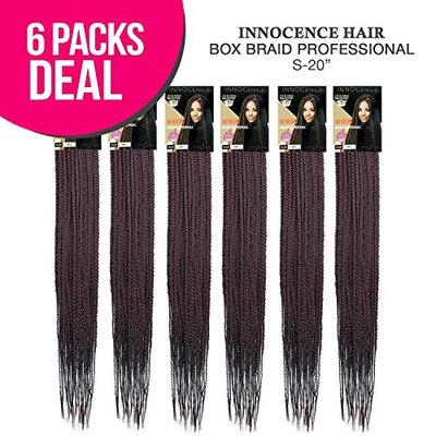 Innocence Hair Synthetic Hair EZ Braids Box Braid Professional [S-20