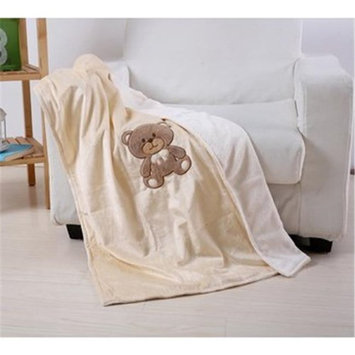 DDI 2279694 30 x 40 in. Teddy Bear Baby Blanket Case of 24