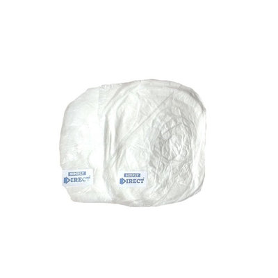 Simply Direct white clip caps x 100. Mop / mob caps for catering, beauty, industrial and nursing applications supplied as 2 packs of 50 in a flat pack format.