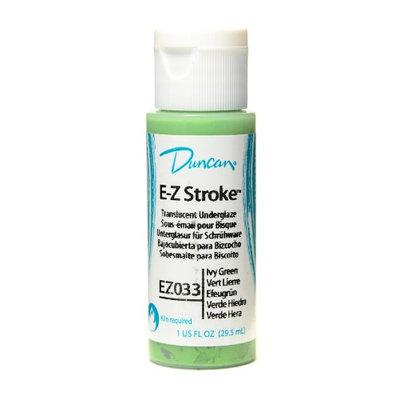 Duncan E-Z Stroke Translucent Underglaze ivy green, 1 oz. [pack of 4]