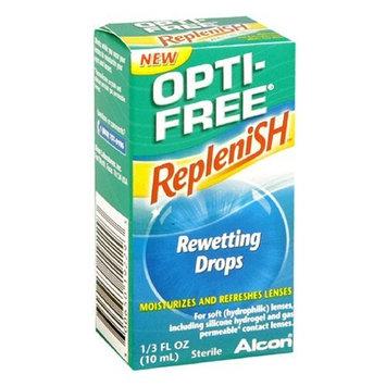 OPTI-FREE Replenish Rewetting Drops 10 mL ( Packs of 3)