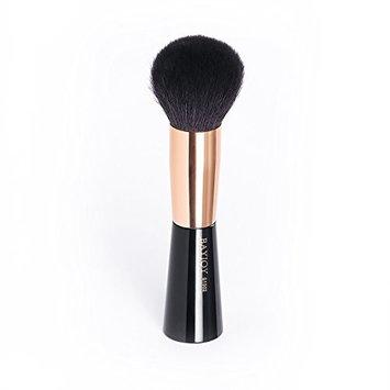 BAYJOY G1502 Powder Brush Pro Extra Large Makeup Brush With Soft Goat Hair Bristles Luxury Face Brush Of Rose Gold Color For Powder Bronzer Blush Brush Packed in Chic Box