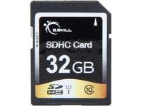 G.SKILL Photo/Video (SD Cards) 32GB Secure Digital High-Capacity (SDHC) Flash Card Model FF-SDHC32GN