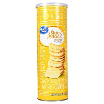 Great Value Gv Canister Potato Chips, Original 5.2oz