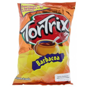 Tortrix Barbecue Chips 6.3oz - Barbacoa Chips (Pack of 18)