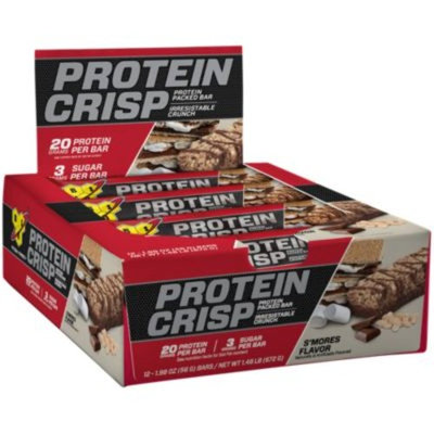 BSN Protein Crisp - SMORES (12 Bars) by BSN at the Vitamin Shoppe