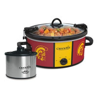 USC Trojans NCAA Crock-Pot 6qt Cook & Carry Slow Cooker