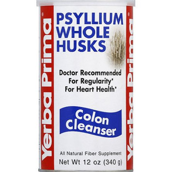 Yerba Prima Psyllium Whole Husks Colon Cleanser, 12 oz