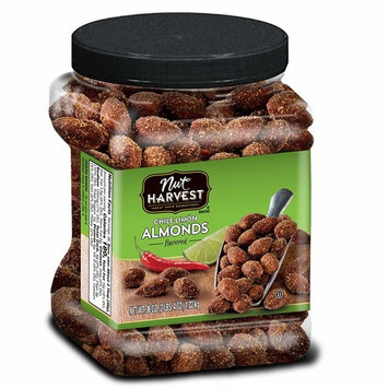 Nut Harvest Almonds, Chile Lime, 36 Ounce [Chile Lime Almonds]
