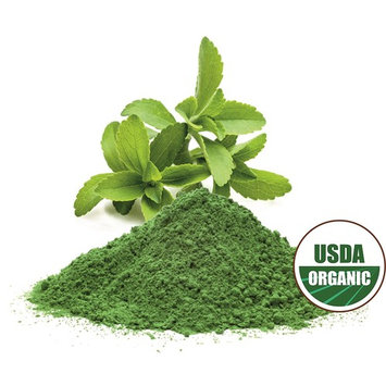 Organic Green Stevia Leaf Powder (1/2 lb) by Naturevibe Botanicals, Gluten-Free, Raw & Non-GMO (8 Ounces)…