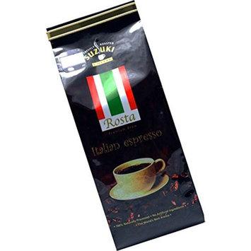 Suzuki ROSTA Premium Espresso Gourmet Arabica Coffee Ground - French Roasted