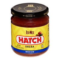 Hatch Salsa, Fire Roasted, Tex Mex, Medium 16 Oz, 6 Ct