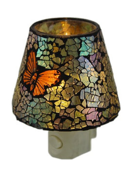 Gift Connection Butterfly Mosaic Night Light