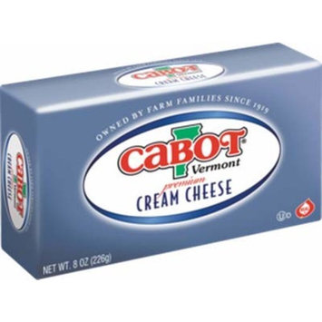 Cabot Vermont Premium Cream Cheese 8oz Box x pcs (Total 16 oz)