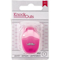 Knock Outs Mini Punch-Mustache, .375